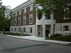 library main entrance